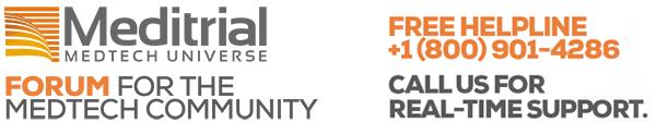 Meditrial Helpline Logo